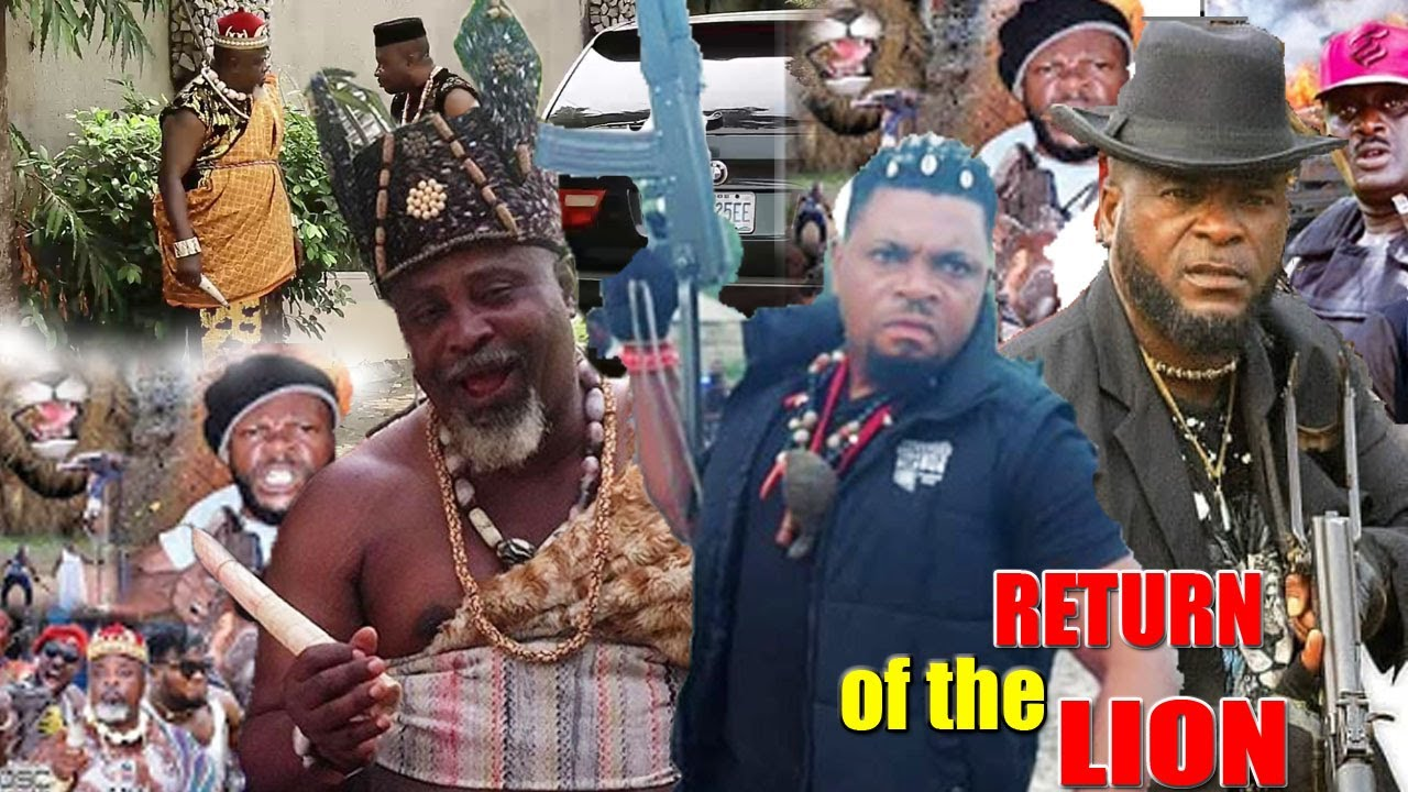 Download RETURN OF THE LION PART 3&4 {NEW MOVIE} - 2020 LATEST NIGERIAN NOLLYWOOD MOVIE