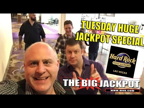🔴Tuesday Huge Slot Jackpots from Hard Rock Casino🎰💣