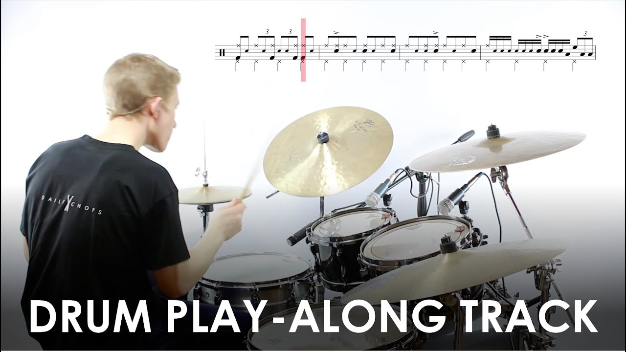 'One Too Many' – Free Jazz Drum Play-along Track and Transcription