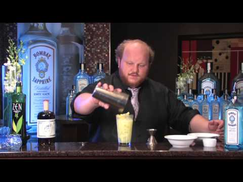 Bombay Sapphire and GQ's Inspired Bartender - Nick Kosevich