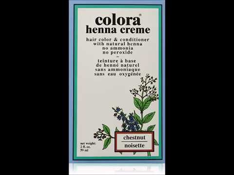 Colora Henna Creme Chestnut 2 Ounce Youtube