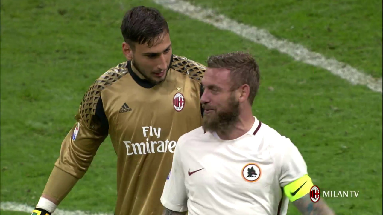 Ac Milan Lose To Roma At San Siro Youtube