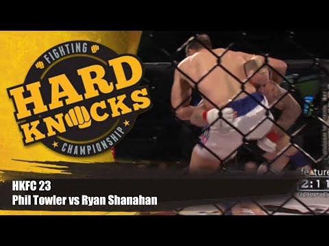 Phil Towler vs Ryan Shanahan | MMA | Hard Knocks Fighting | HKFC 23