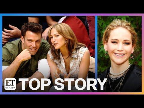 Jennifer Lawrence Reacts To Ben Affleck, Jennifer Lopez Reunion