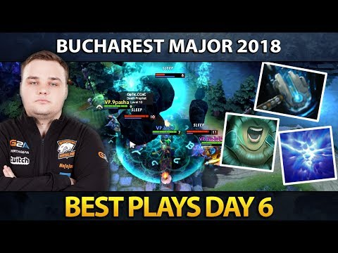 Dota 2 The Bucharest Major - Best Plays - Day 6 thumbnail