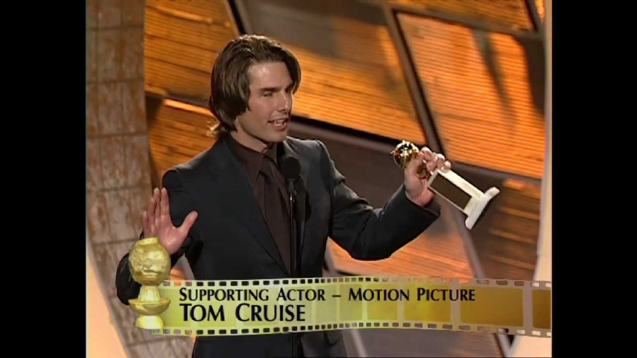 Tom Cruise Wins Best Supporting Actor Motion Picture