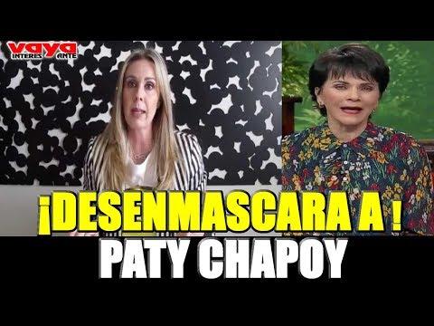 Atala Sarmiento desenmascara a Pati Chapoy y confirma lo que todos sospechábamos