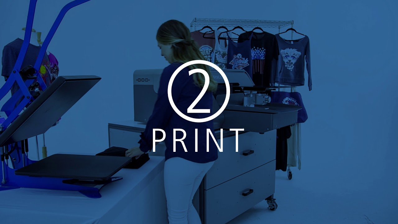 How it works - Printing garments with the Ri 1000 Direct to Garment printer
