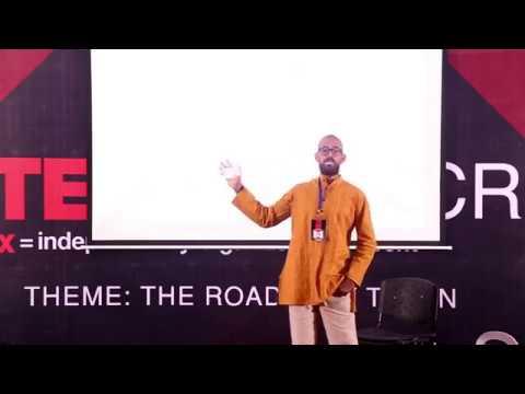 """Handstand Journey from Oman to the Globe "" | Fahad Al Abri | TEDxSRMNCR"