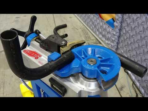 "Ercolina Tube & Pipe Hydraulic Rotary Draw Bending Machine Bending 2"" Sch. 40 Pipe"