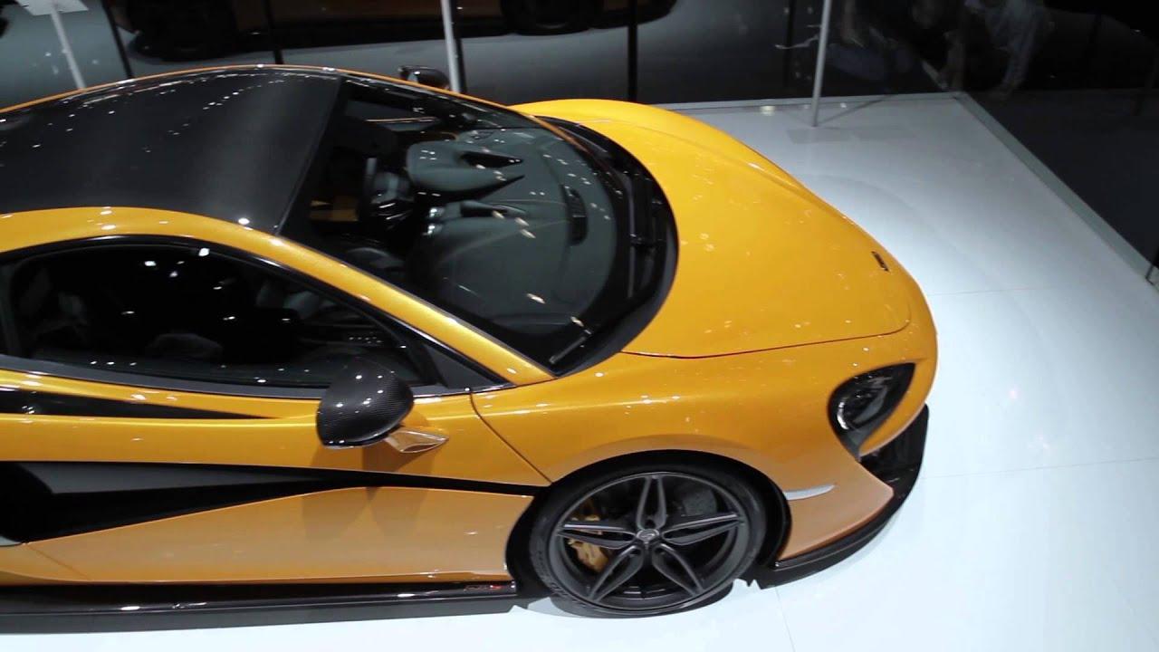 Chris Goodwin on the McLaren 570S Coupé - New York Auto Show 2015