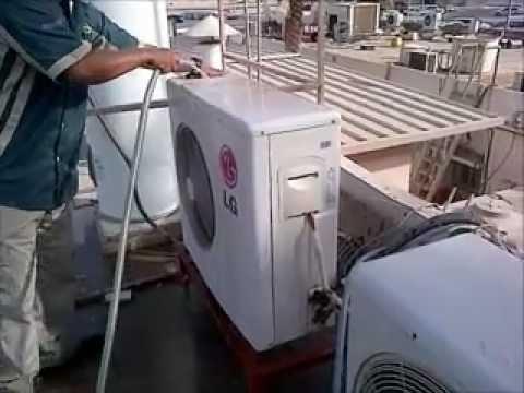 Air Conditioner Wiring Diagram Farmall H Generator Ac Servicing (split Outdoor Pm) - Youtube