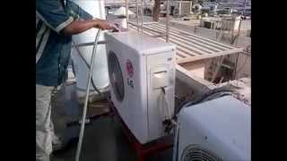 ac servicing (split ac outdoor pm)