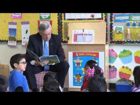 Mayor Book Club at Harrison Park School
