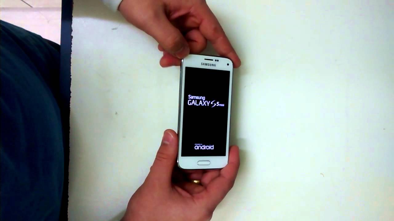 como descobrir a senha do celular samsung s5 mini
