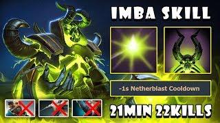 [Pugna] IMBA Skill Deleted You Tanky | 21Min 22Kills GODLIKE FullGame Dota 2 7.21