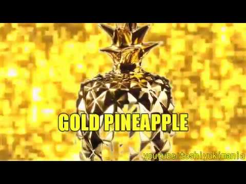 【 GPGPGPAP】 Gold pen Gold pineapple Gold pen pineapple で金運上昇!【Global nursery rhyme piano】