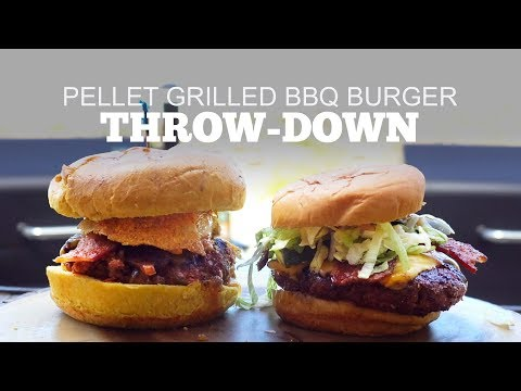 Pellet Grilled BBQ Burger Throw-Down