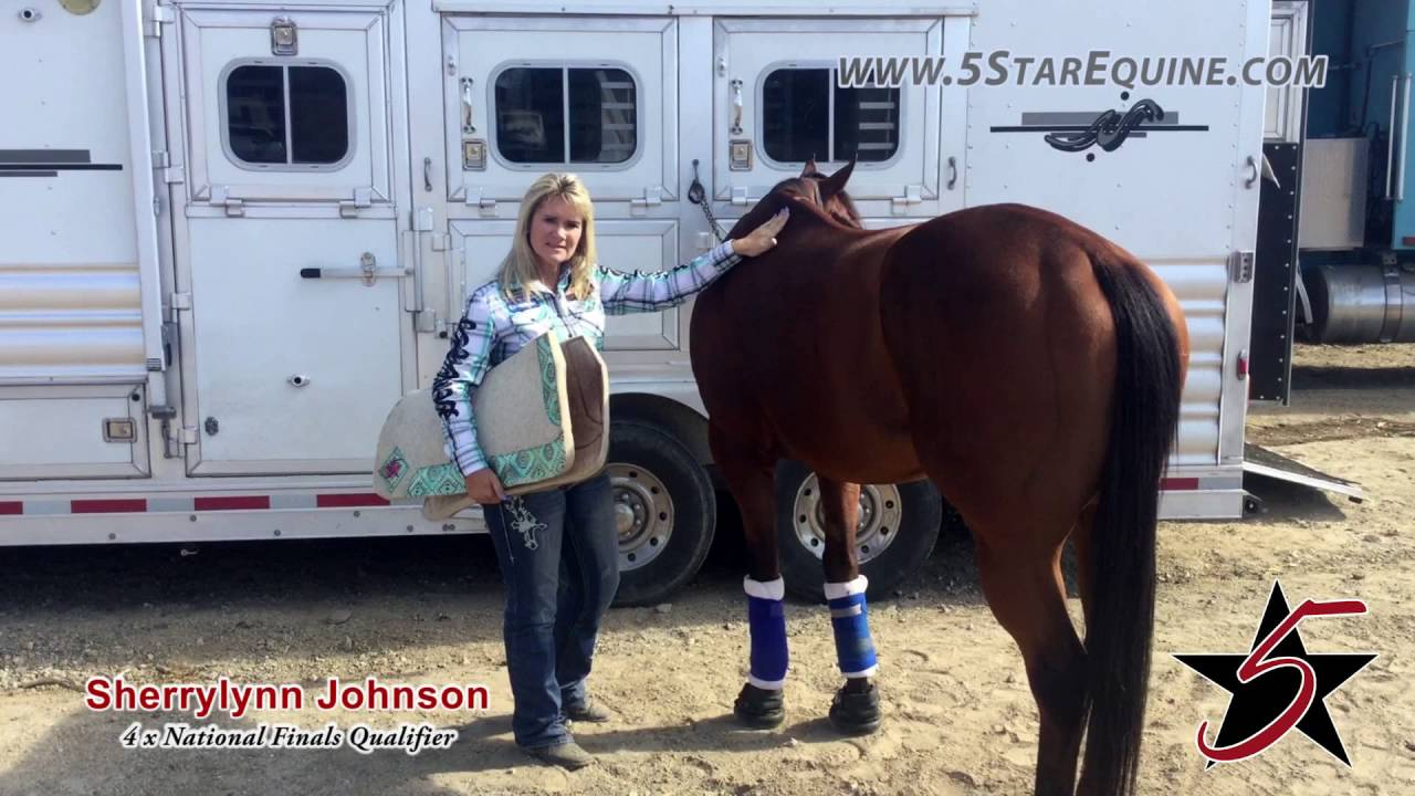 Sherrylynn Johnson on the 5 Star Flex Fit Pad