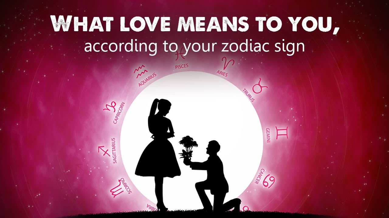Here is how you express love, according to your zodiac sign