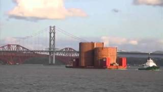 Queensferry Crossing - FRC caisson arrival