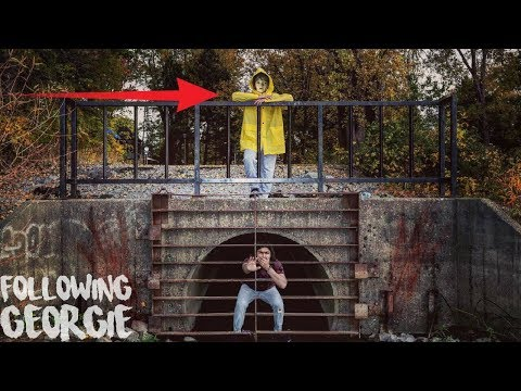 "I FOLLOWED GEORGIE FROM ""IT"" BACK TO THE SEWER AND I ENDED UP AT THE PENNYWISE SEWER 