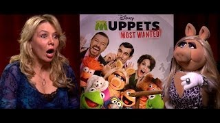 Miss Piggy Attacks Reporter in Jealous Rage - Muppets Most Wanted - Melissa DiMarco - Out There