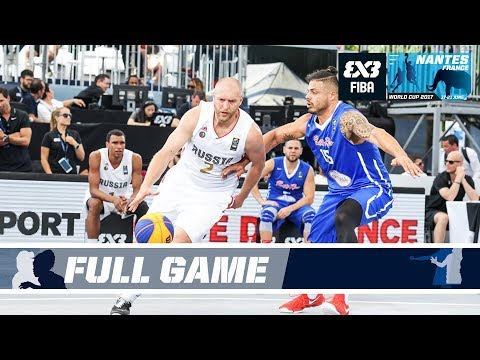 Russia defeats Porto Rico in a real thriller! - Full Game - FIBA 3x3 World Cup 2017