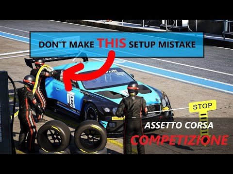 Assetto Corsa Competizione Multiplayer: DON'T Do THIS Setup Mistake! |