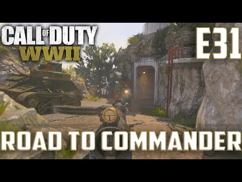 Call Of Duty World War 2(RTC)PS4 Ep.31-TDM On Flak Tower,Gibraltar(STG 44,Type 100 Gameplay)