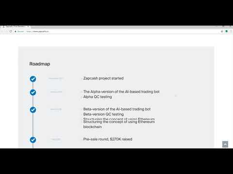 zapCASH ICO and Decentralized Lending Platform Review