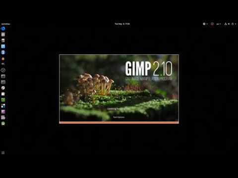 gimp photoshop theme