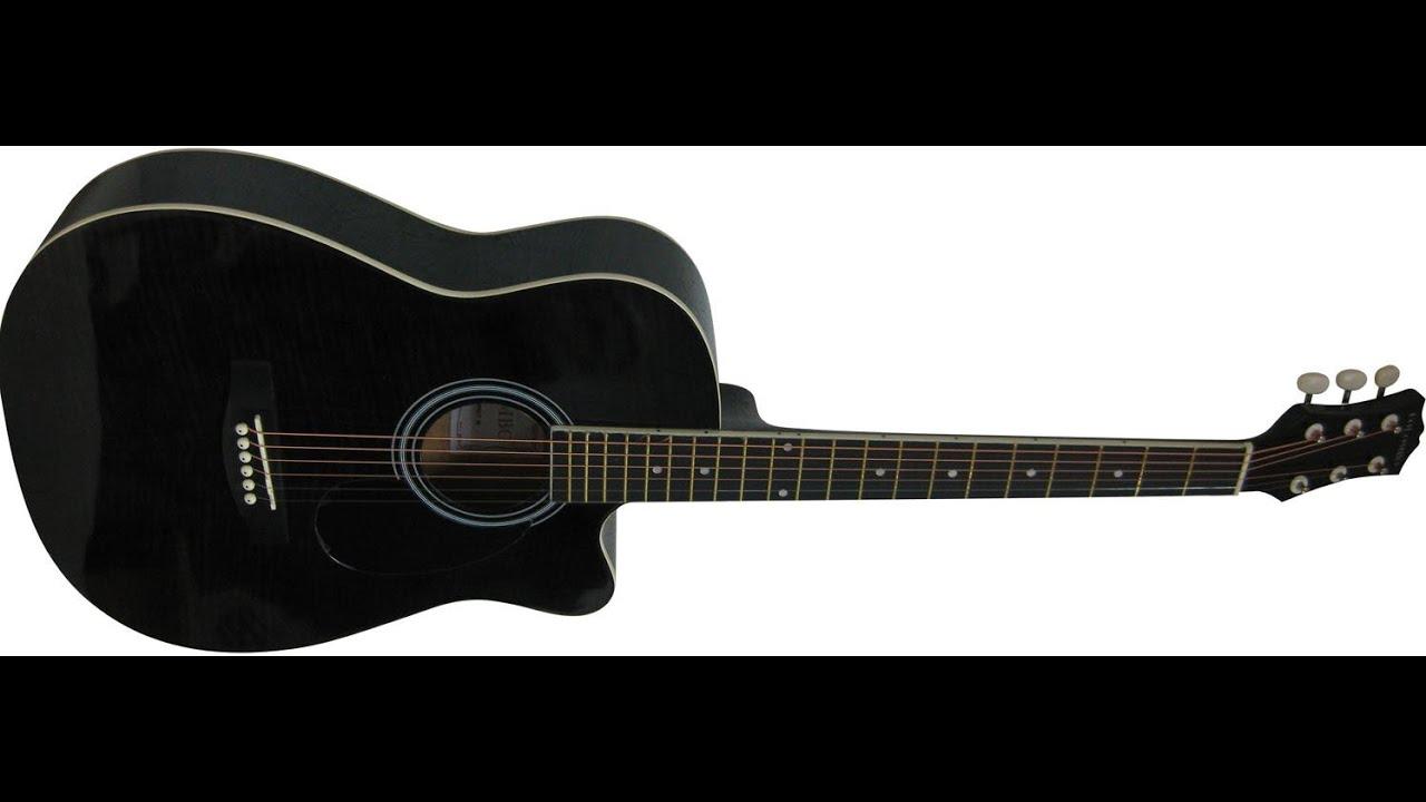 гитара черная фото