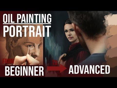 Oil Painting Portrait - Techniques for Beginners and Advanced Step by Step - Tutorial  Demonstration thumbnail