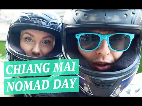 Typical Digital Nomad Day: Chiang Mai (+ APARTMENT TOUR)