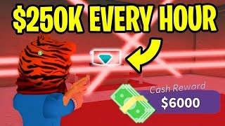 Roblox Mad City HOW TO MAKE MONEY FAST! *1 MILLION IN A DAY!* (How To Get 1 Million Dollars)