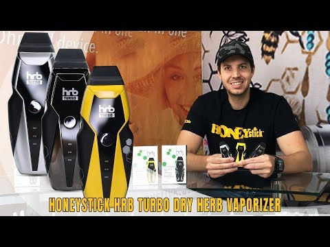 HoneyStick HRB Turbo Dry Herb Vaporizer | Unboxing | How To | Features of the Turbo Dry Herb Pen