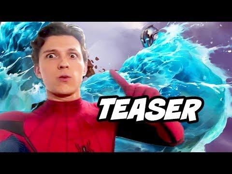 Spider-Man Far From Home Teaser - Spider-Man vs Villain Fight Scene