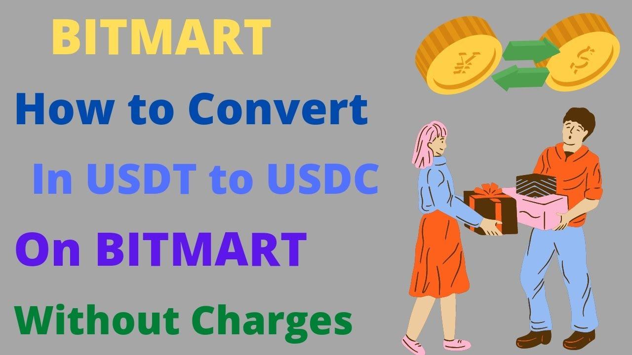 Kannst du Bitcoin auf Bitmart in USDT konvertieren?