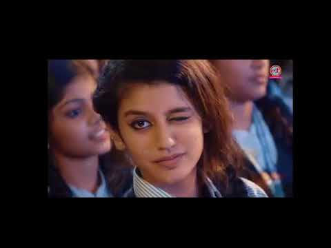 Kerala Girl Priya prakash Varrier Video original/ India's national crush/The New Internet Sensation
