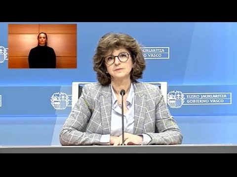 Nekane Murga Osasuneko Sailburuak COVID-19 Koronabirusaren Egoera Eguneratu Du Euskadin (2020-04-30)