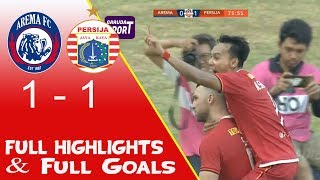 Arema FC vs Persija 1-1 Full Goals & Highlights Liga 1 2019