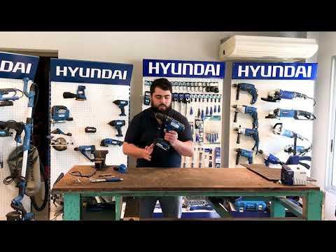 Taladro de Impacto a Batería HYUNDAI HYCID20 20V