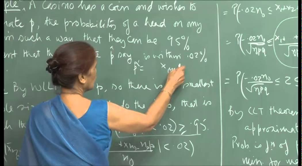 Mod-01 Lec-21 Central limit theorem