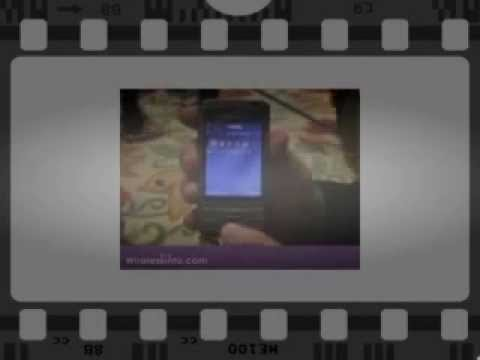 Samsung G810 Video Preview