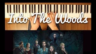 Moments in the Woods (Into the Woods) [Easy-Intermediate Piano Tutorial]