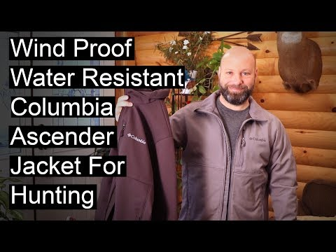 WindProof Water Resistant Columbia Jacket For Hunting