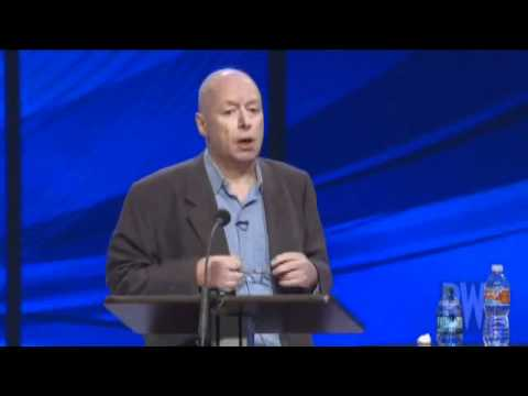 """""""Does A Good God Exist?"""" Debate - Christopher Hitchens' Parts"""