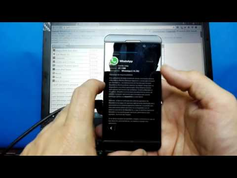 Instalacion de Android Whatsapp en BlackBerry Z10