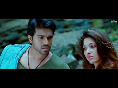 Love Scene    Racha Telugu Movie Scene    Ram Charan    Thamaanha     HD 1080p